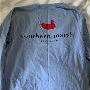 Southern marsh long sleeved tee